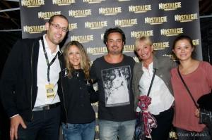 Marisa, Dj Charley & Vincent Barracato, son épouse et sa maman